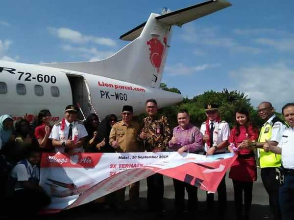 Wings Air Resmi Buka Rute Labuha-Ambon