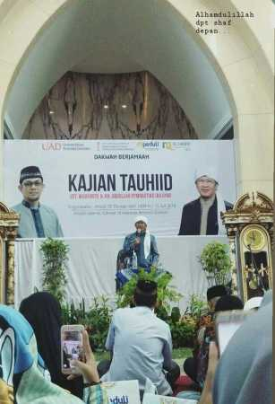 Masjid Islamic Center UAD Gelar Kajian Tauhid
