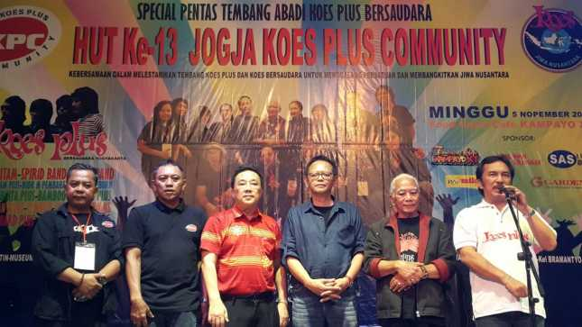 HUT ke-13 Jogja Koes Plus Community