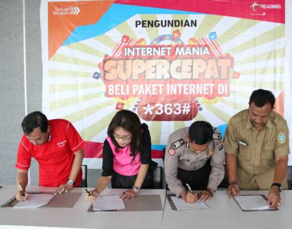 TELKOMSEL UNDI PROGRAM INTERNET MANIA SUPER CEPAT